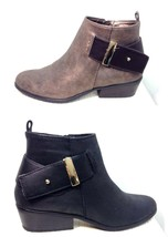 White Mountain Bronze Limerick Low Heel Ankle Boots Size 6.5 - £19.60 GBP