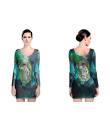 rick and morty Peace Among Worlds LONG SLEEVE BODYCON DRESS - $25.99+