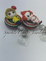 Georgie and Pennywise Clay Badge Reel  image 3