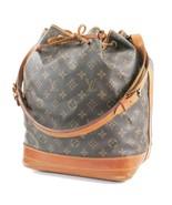 Authentic LOUIS VUITTON Noe Monogram Shoulder Tote Bag Purse #32161 - $375.00
