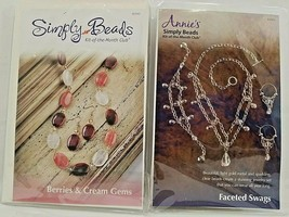 Annie's Simply Beads Club 2 Kits- Berries & Cream Gems BD045 Faceted Swa... - $27.45