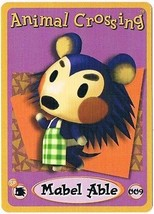 Mabel Able 009 Animal Crossing E-Reader Card Nintendo GBA - $9.89