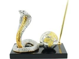 Desktop set instrument handle Desk business snake globe tree man gift st... - $102.92
