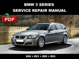 Bmw 3 Series Wagon E91 2006 - 2010 Service Repair Workshop Maintenance Manual - $14.95