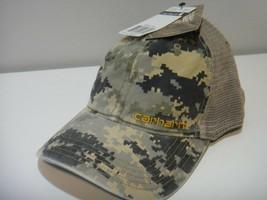 Carhartt Mens Camo Snap Back Adjustable Hat - $21.46