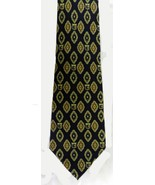 Tommy Hilfiger Paisley Shield Pattern 100% Silk Navy Maroon Men's Neck Tie - $29.37