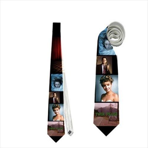necktie laura palmer twin peaks tv series cult neck tie agent cooper