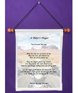 A Biker's Prayer Poem - Personalized Wall Hanging (835-1) - $18.99