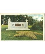 World War Memorial at Riverside, Marshalltown, 1950 used Postcard  - $4.99