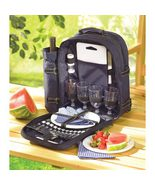 Picnic Backpack for Four 30 pieces Bag: 15 by 17 - $39.95