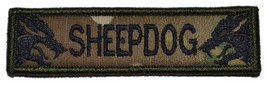 Sheepdog 1x3.75 inch Military Patch / Morale Velcro Patch - Multiple Colors (... - $4.89