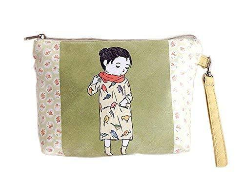 Fresh Style Cartoon Canvas Cosmetic Bags/Purse