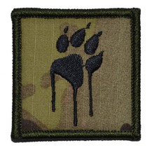 Tracker Paw Dripping 2x2 Patch with Velcro - Multiple Colors - $5.99
