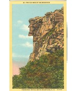 The old Man of the Mountain, Franconia Notch, White Mountains, NH, postcard - $4.99