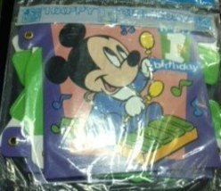 Disney Babies 'Happy 1st Birthday' Jointed Banner - $5.89