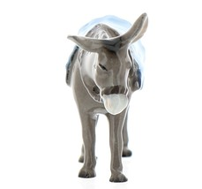 Hagen-Renaker Specialties Ceramic Nativity Figurine Donkey with Blanket image 2