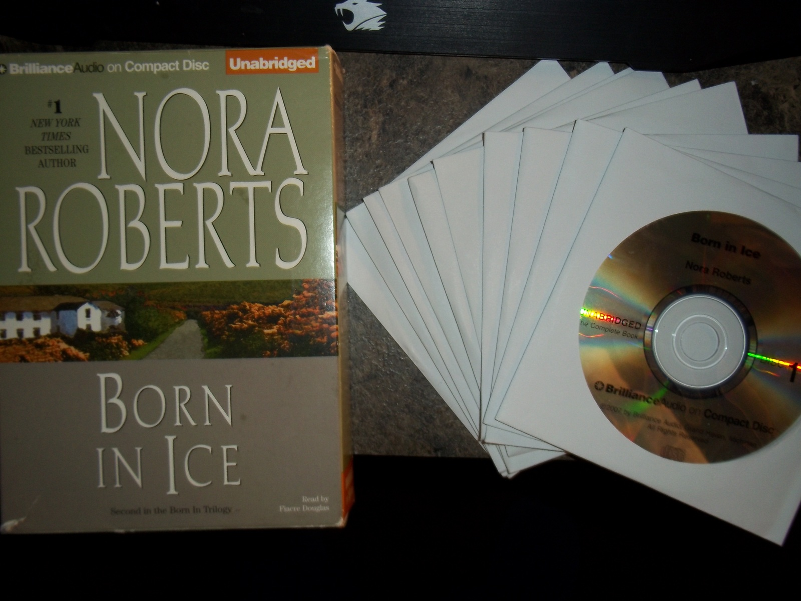 Nora Roberts Born in Ice (Born In Trilogy) Audiobook CD – Unabridged