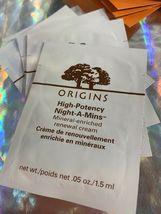 Huge 20pc ORIGINS Luxury LOT Mask Night A Mins GinZing Original Skin Hello Calm image 7