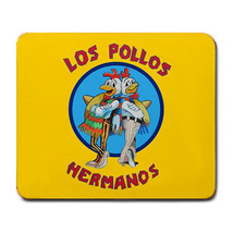 BRAND NEW BREAKING BAD INSPIRED MOUSE PAD LOS POLLOS HERMANOS GREAT GIFT - $150,77 MXN