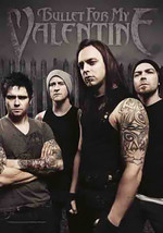 Bullet For My Valentine Poster Flag Band Photo Tapestry New - $13.36