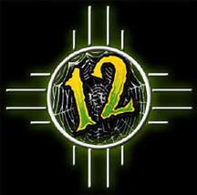 Twelve Step Rebels Iron-On Patch 12 Web Logo New - $8.69