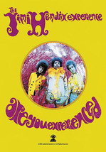 Jimi Hendrix Poster Flag Are You Experienced Tapestry New - $14.99