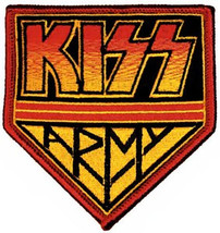Kiss Army Iron-On Patch Band Logo New - $8.69