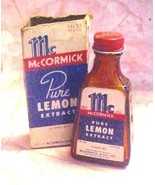McCormick Pure Lemon Extract amber bottle w box... - $5.94
