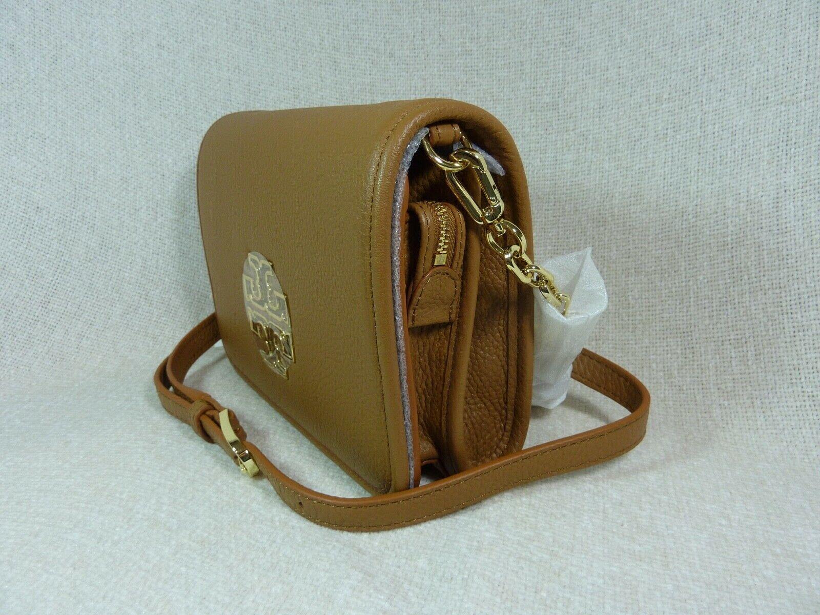 NWT Tory Burch Bark Leather Britten Combo Cross Body bag/Clutch  - $425 image 2