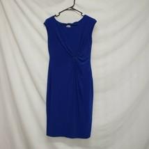 Ann Klein Blue Dress Women Size 4 - $27.44
