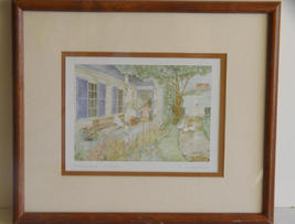 Signed and  Framed Helen Downing-Hunter  - $15.99