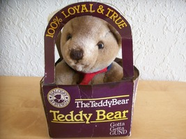 1982 Gund's Bialosky & Friends Teddy Bear in box  - $25.00