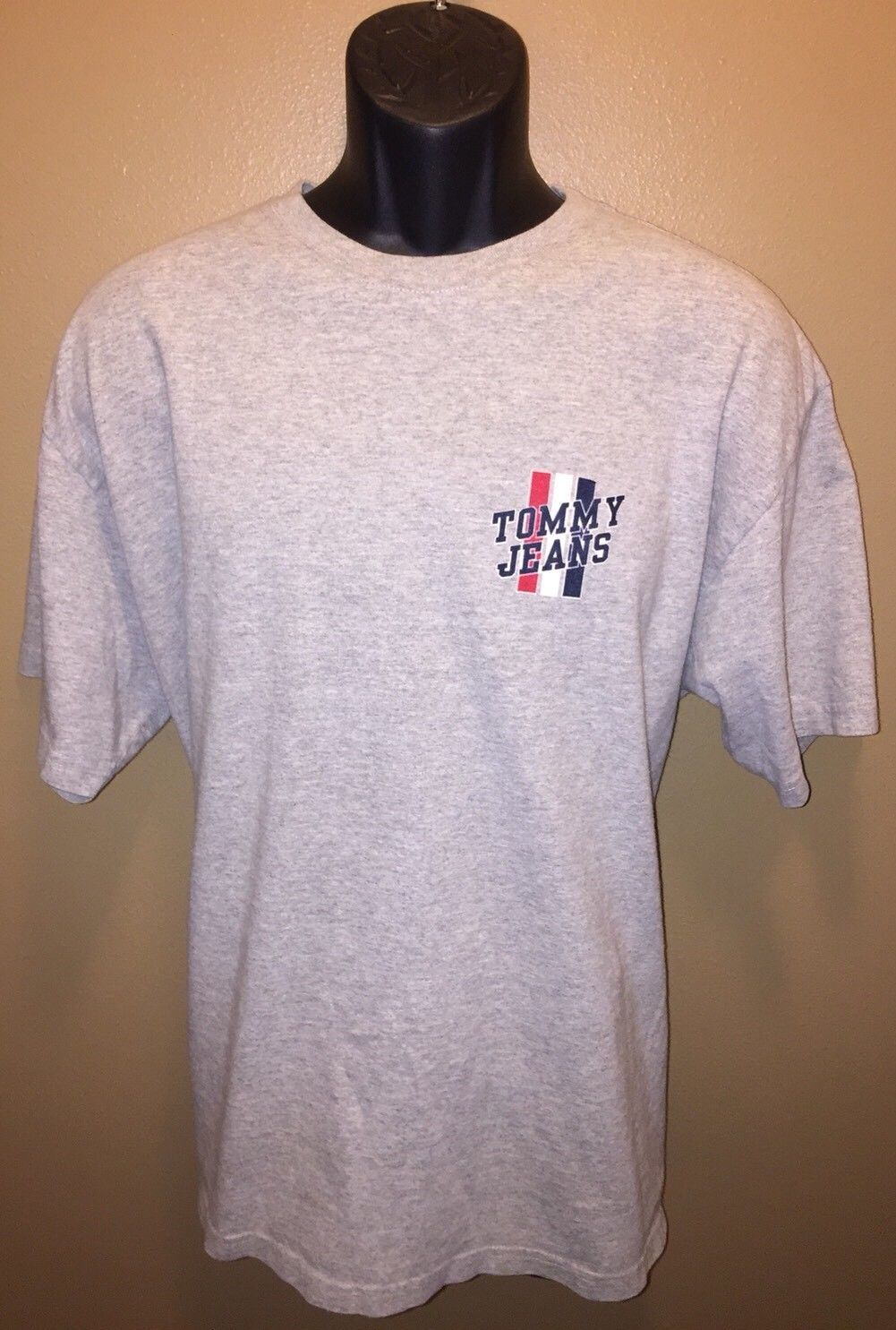 7fef94c90 Tommy Hilfiger Mens Upstate Logo Flag T Shirt