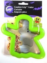 Ghost Comfort Grip Cookie Cutter Wilton Green - $3.99