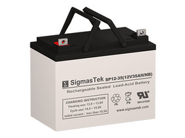 Sunnyway SW12330 AGM / GEL U1 Battery Replacement by SigmasTek - $79.99