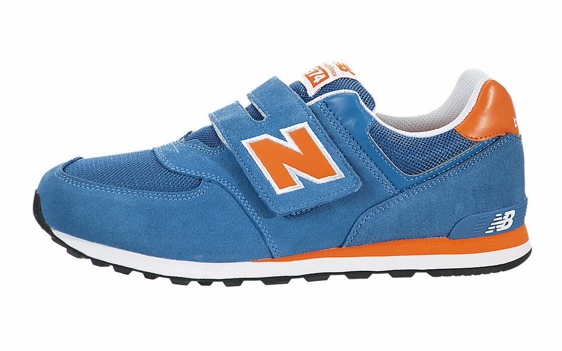 New Balance Boys 574 Strap-up Sneakers