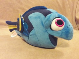 """TY SPARKLE Disney blue DORY from FINDING NEMO Fish plush beanbag 10"""" - $5.89"""