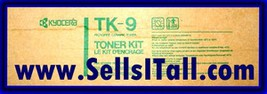 Brand NEW Genuine Kyocera TK-9 Toner Kit TK9 - $19.95