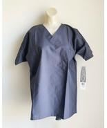 Scrub Zone by Landau Unisex Grey Workwear Scrubs  - $12.86