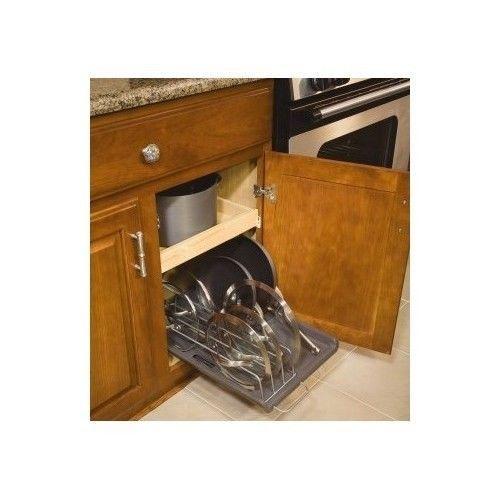Pan Organizer Rack Pot Kitchen Storage Holder Cookware
