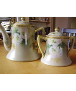 Antique Tea Pot and Sugar Bowl - $65.00