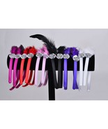 12 pcs feather head hoop Headband Hair Band Comb Hairband Headwear made ... - $9.99
