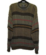 RALPH LAUREN Mens Sweater Size Large Striped Crewneck Pullover USA - $18.00