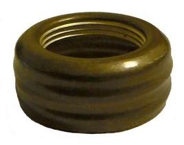 "Antiqued Solid Brass Lamp Collar for Nutmeg Oil Burner Miniature Mini 11/16"" ID - $9.95"