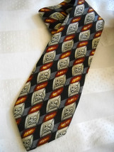 Robert Talbott Best of Class for H. Stockton Men's Neck Tie Black Burgun... - $6.86