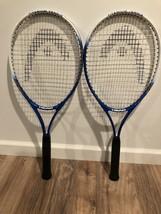 TWO (2) HEAD Nano Titanium Tennis Rackets Great Condition - $26.59