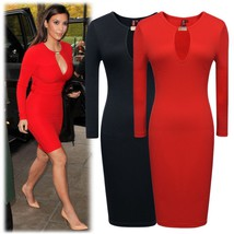 Kim Kardashian Keyhole Bodycon Dress - $44.99