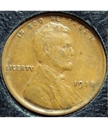 1918 Lincoln Wheat Penny VF #805 - $1.19