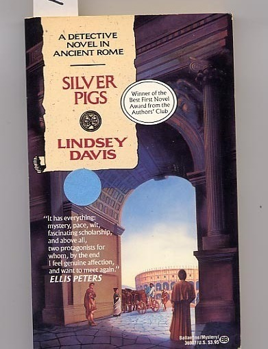 Silver Pigs by Lindsey Davis PB