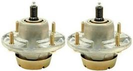 2 Spindle Assemblies Replaces John Deere AM144377, AM135349, AM124498, AM131680 - $58.99